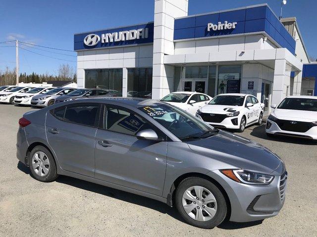 Hyundai Elantra L  SIEGES CHAUFFANTS 2017