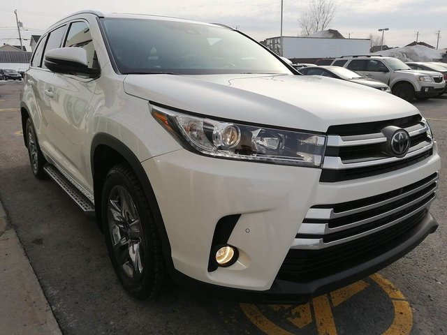 Toyota Highlander AWD 4dr Limited 2017