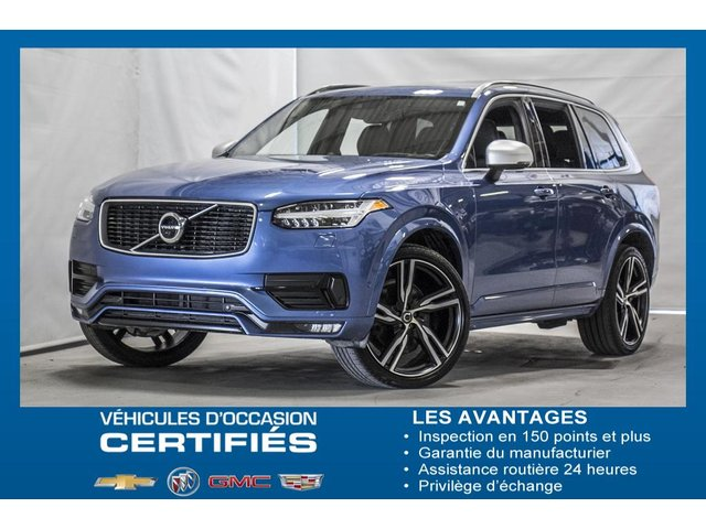 Volvo XC90 DESIGN R AWD toit ouvrant GPS cuir 7 passager 2018