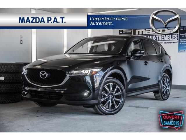 Mazda CX-5 AUTOMATIQUE+CAMÉRA+GPS+TOIT OUVRANT,CUIR 2017