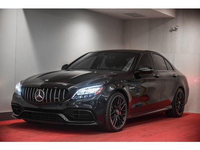 Mercedes-Benz C-Class C63S AMG**À L'ÉTAT NEUF!!**3M@6000$ INCLUS** 2019