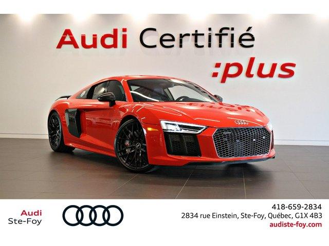 Audi R8 V10 Plus- *0.9% Disponible 2017
