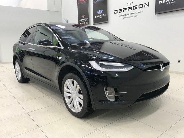Tesla Model X 90D, CLIMAT GLACIAL, 5 PASSAGERS 2016