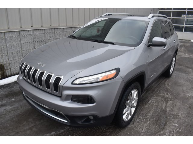 Jeep Cherokee Limited CUIR TOIT MAGS 2015