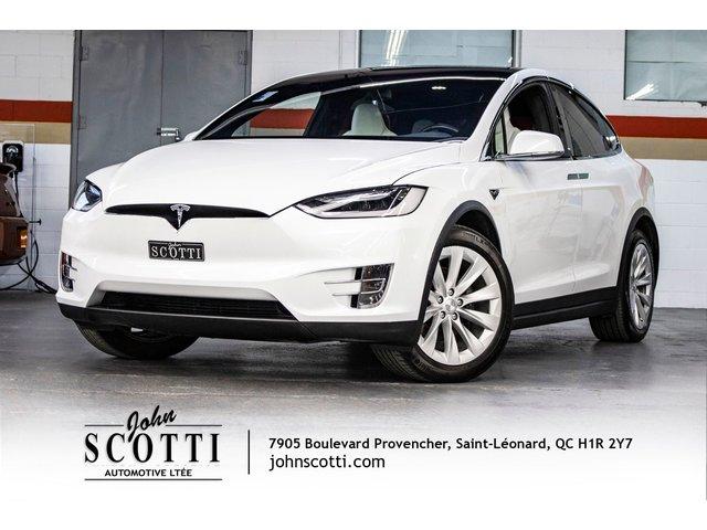 Tesla Model X 90D 416KM D'AUTONOMIE 2016