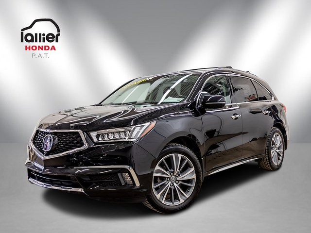 Acura MDX ELITE 6 Passagers -NAVI +CUIR + TOITOUVRANT 2018
