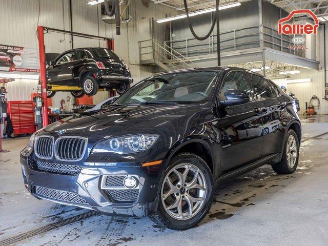 BMW X6 XDRIVE35I **JAMAIS ACCIDENTÉ //CUIR//TOIT//NA 2014