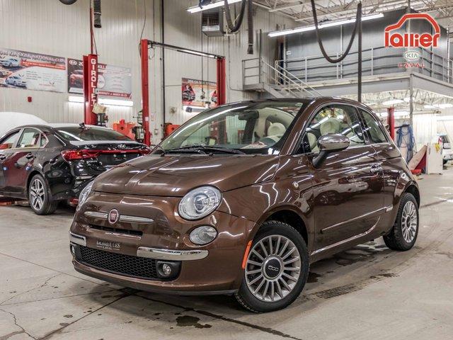 Fiat 500 LOUNGE CONVERTIBLE *19,000 KM! +JAMAIS ACCIDE 2015
