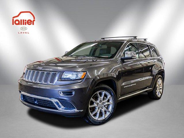 Jeep Grand Cherokee SUMMIT **ECODIESEL** 4X4 **CUIR*JAMAIS ACCIDE 2015