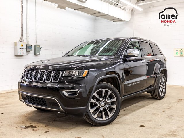 Jeep Grand Cherokee Limited mags 20 po / GPS JAMAIS ACCIDENTE 2018