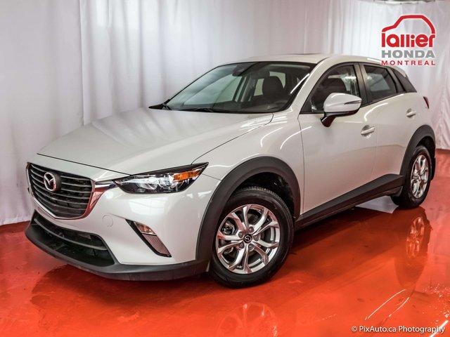 Mazda CX-3 GS* GROUPE DE LUXE**TECHNOLOGIE**SKY ACTIVE 2018