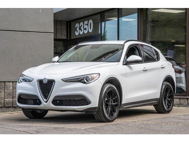 Alfa romeo Stelvio AWD | GPS | CAMERA | SIEGES CHAUFF | 2018