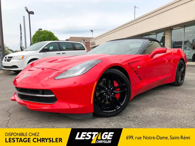 Chevrolet Corvette 2LT STINGRAY / CONVERTIBLE / NAVIGATION 2017