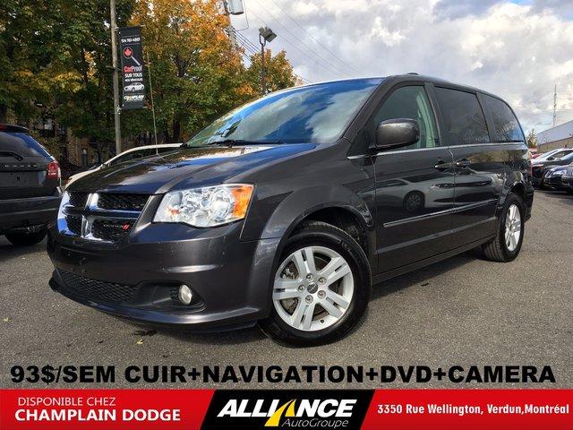Dodge Grand Caravan CREW PLUS,CUIR,NAVIGATION,DVD,CAMERA 2017