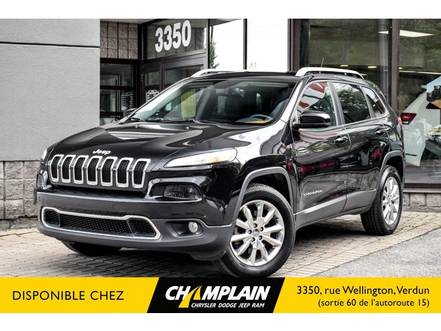 Jeep Cherokee LIMITED 4X4 | CAMERA | BLUETOOTH | COMMANDE AU VOLANT 2015