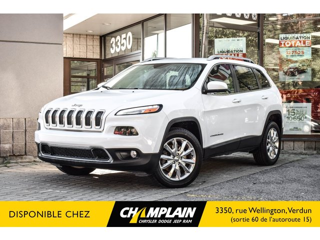 Jeep Cherokee LIMITED 4X4 | CAMERA | GPS | SIEGES VENTILÉ ET CHAUFF 2016