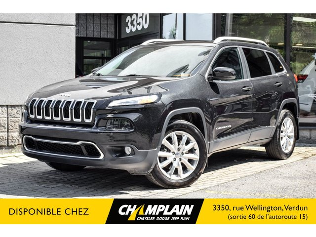 Jeep Cherokee LIMITED | 4X4 | SIEGES A/C | TOIT PANORAMIQUE 2016