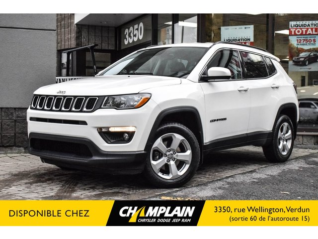 Jeep Compass NORTH / 4X4 / GPS / CAMERA / CUIR / SIEGES CH 2017