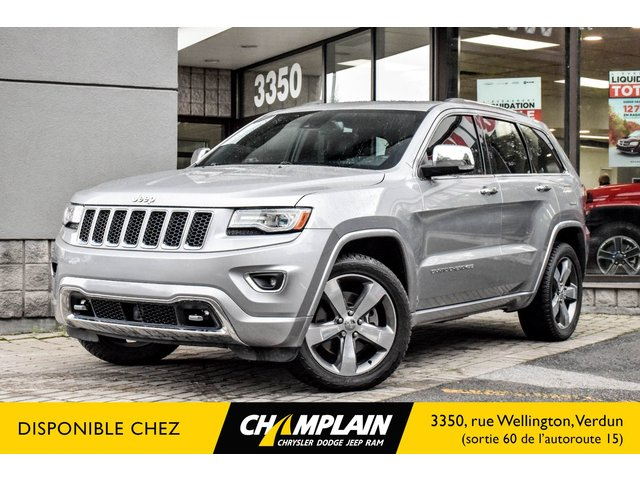 Jeep GRAND Cherokee OVERLAND 4X4 | TOIT PANO | NAVIGATION | CAMERA | CUIR  2015