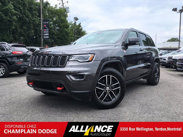 Jeep Grand Cherokee TRAILHAWK CUIR,TOIT PANORAMIQUE,NAVIGATION 2017