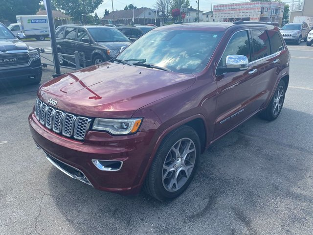 Jeep Grand Cherokee Overland- Navigation- Toit panoramique 2020