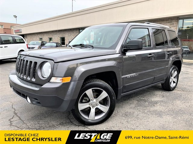 Jeep Patriot HIGH ALTITUDE EDITION 4X4 | CUIR | TOIT |BLUE 2017