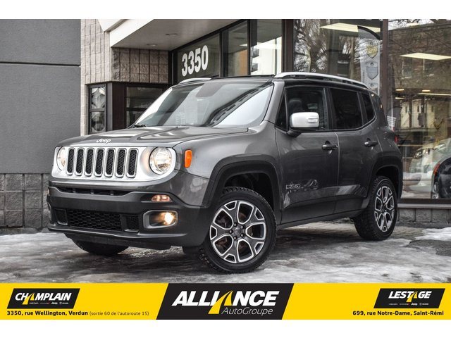 Jeep Renegade LIMITED - 4X4 - CAMERA - TOIT PANORAMIQUE- GP 2016