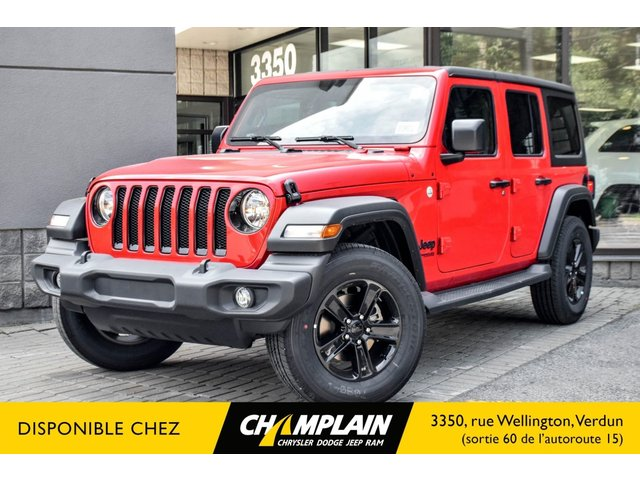 Jeep Wrangler Unlimited ALTITUDE | 2 TOITS | ENS. HIVER | HITCH 2019
