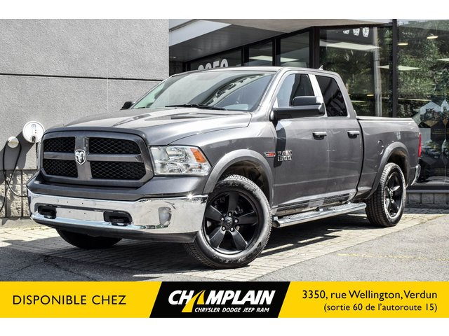 RAM 1500 slt OUTDOORSMAN | ECODIESEL | 4X4 | CAMERA | 2018
