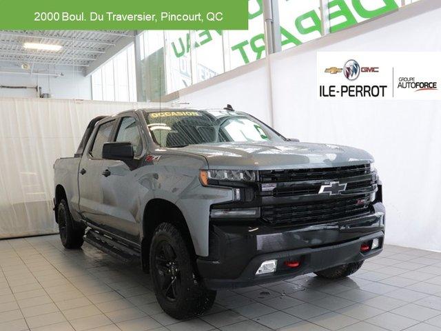 Chevrolet Silverado 1500 LT Trail Boss,BACK RACK,CREW CAB,COUVERT DE B 2019