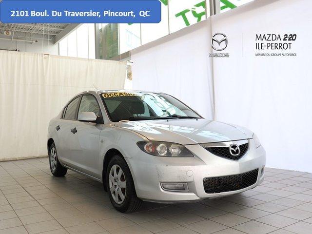 Mazda Mazda3 GX BON MILEAGE, ÉCONOMIQUE, PETIT PRIX BUDGET 2008