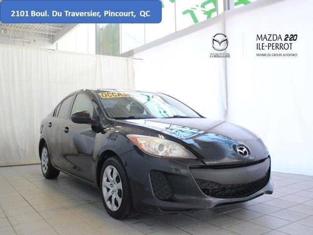Mazda Mazda3 GX ÉCONOMIQUE PETIT PRIX SOLIDE 2012