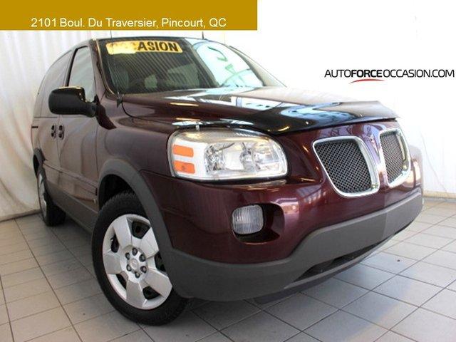 Pontiac Montana SV6 W/1SA BELLE CONDITION 7 PASS TOUTE EQUIPE 2009