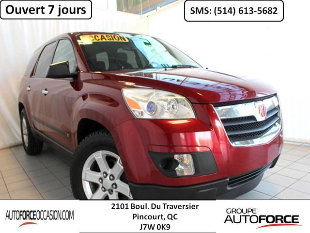 Saturn Outlook XE AWD 8 PASS DUAL ZONE MAGS BAS KM TOUTE EQU 2007