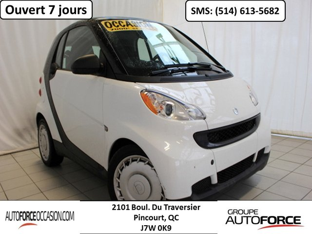 Smart Fortwo PURE AUT AC GROUPE ELECT BAS KM BELLE CONDITI 2011