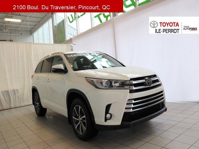 Toyota Highlander XLE, CUIR, TOIT OUVR, NAVI, TSS-P, BLUETOOTH+ 2018
