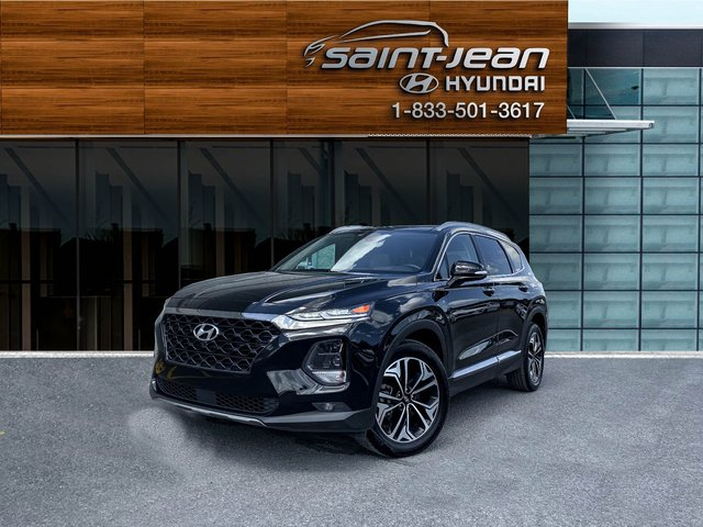 Hyundai Santa Fe Ultimate // CUIR 2 TONS + TOIT PANO BLUETOOTH 2019