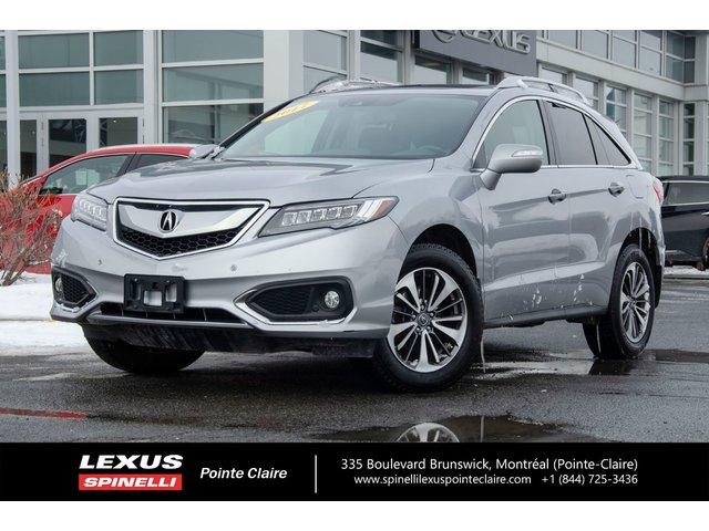 Acura RDX **ELITE PKG AWD** 2017