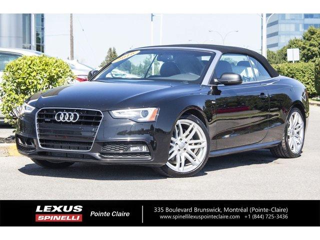 Audi A5 **TECHNIK CONVERTABLE**QUATRO** 2016