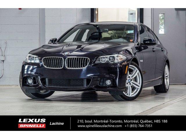 BMW 5 Series 535d XDRIVE - M SPORT: TOIT GPS BANG & OLUFSE 2014