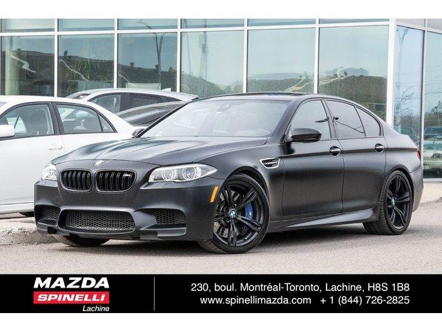 BMW M5 TOUTES OPTION 4 PNEUS NEUF 2016