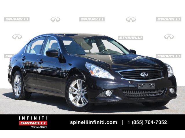 Infiniti G37 Sedan TOIT / CAMERA / SIEGES CHAUFFANTS**** 2013