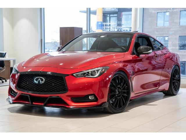 Infiniti Q60 RED SPORT / 360 CAMERA / TOIT / GPS 2019