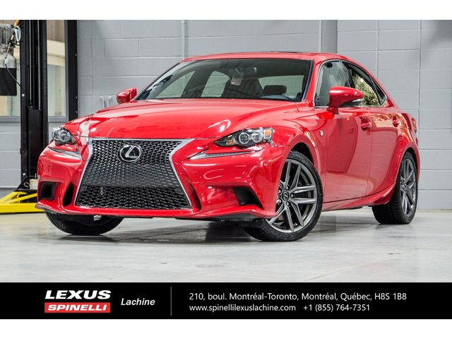 Lexus IS 350 AWD F SPORT III; TOIT GPS AUDIO 2016