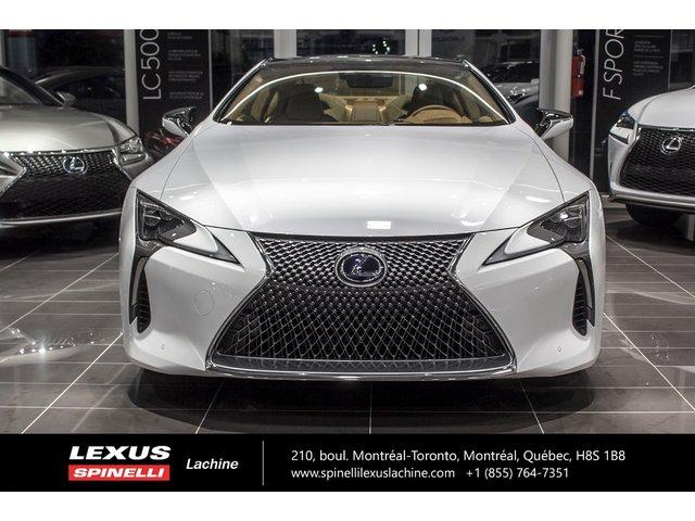 Lexus LC 500h HYBRIDE RWD; GROUPE PERFORMANCE 2018