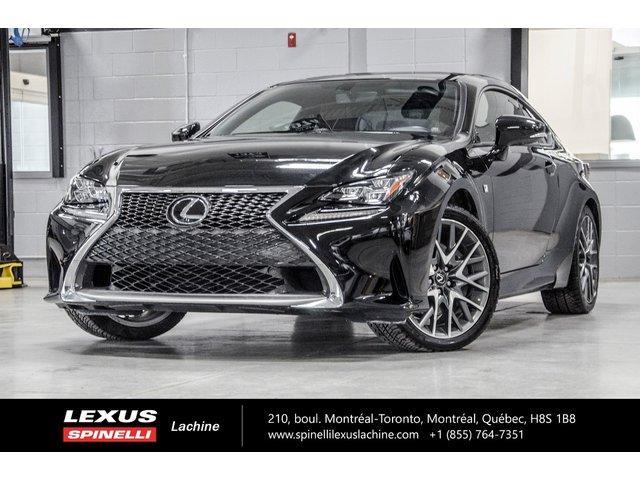 Lexus RC 350 *$207.32/SEM $0 COMPTANT/TAXES INCL 2016