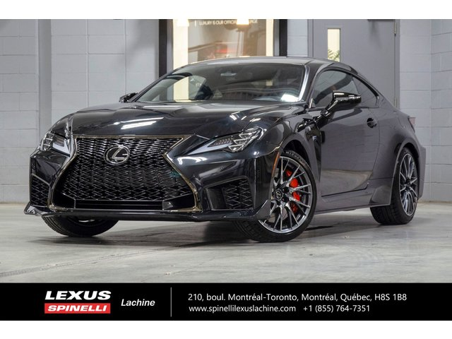 Lexus RC F PERFORMANCE RWD; 472 CH TOIT CARBONE FREINS B 2020