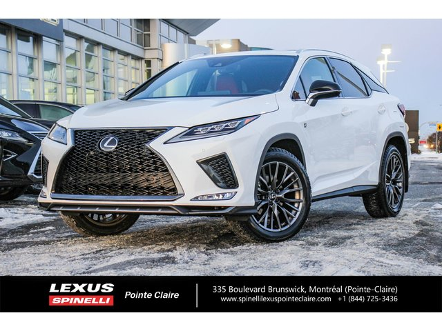 Lexus RX 350 F-SPORT, NAVIGATION PACKAGE 2020
