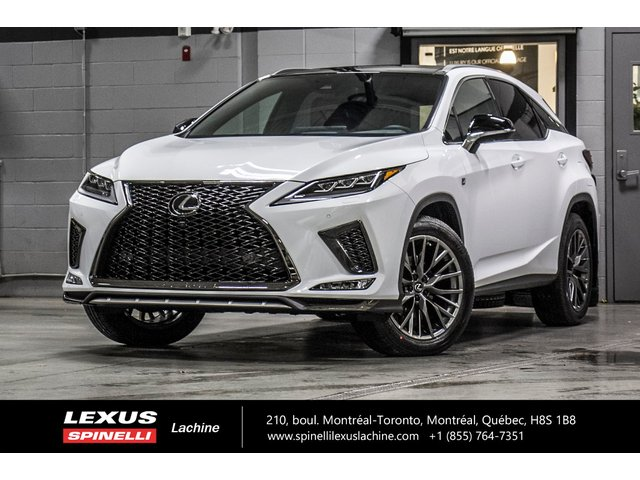 Lexus RX 350 F SPORT III AWD; CUIR TOIT GPS CARPLAY AUDIO  2020