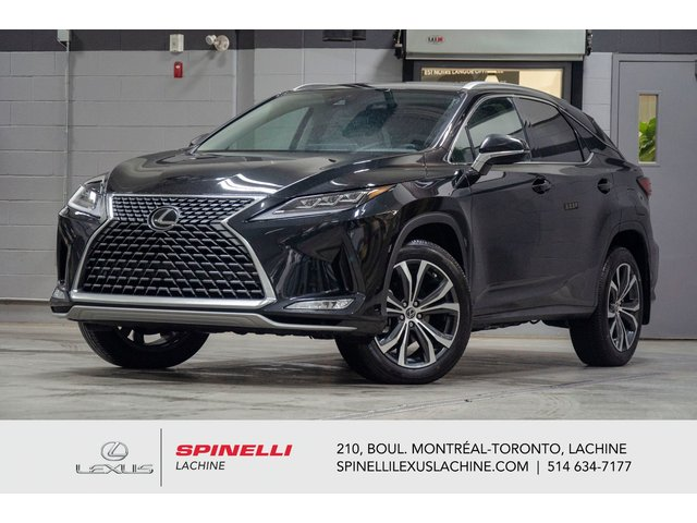 Lexus RX 350 LUXE AWD; CUIR TOIT GPS ANGLES MORT MAGS 20'' 2020